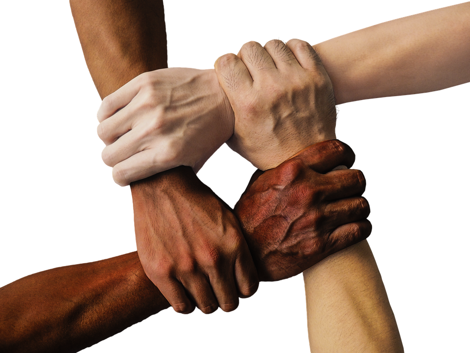Hands Forming A Symbol Of Unity My Creston Now